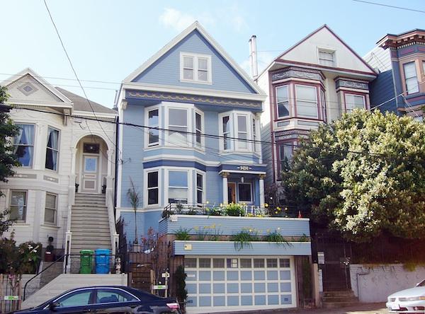 San francisco ou la maison accroch e la m moire beau vers l 39 il - La maison bleue chanson ...